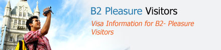 Nonimmigrant Visa B2 Pleasure Visitors
